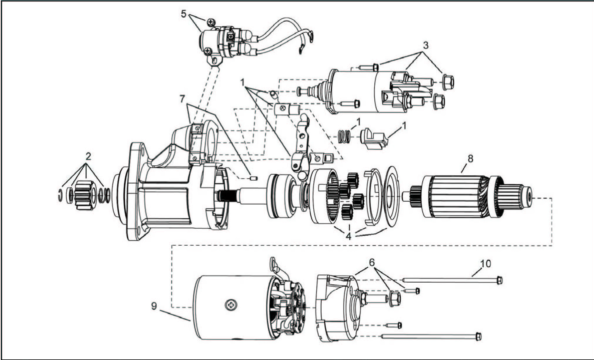 Somfy Motors Wiring Diagram likewise 42mt Delcoremy Startermotor together with 140 39149 in addition Exploded Views as well Starter Solenoid Wiring Diagram 2 Cycle Golf Cart. on delco 39mt