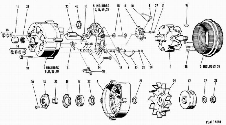 Delco Remy Alternator Parts