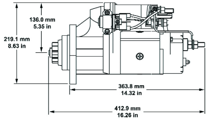 Mas 6744 0220 New Replacement Relay Switches Nikko Starters furthermore Starter 50855 in addition 1957 Chevrolet Generator Wiring Diagram also Dre19026029 Starter Delco Remy Art En 19026029 dre likewise Index. on delco 39mt