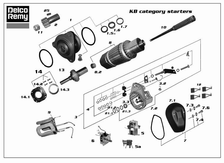 dre19024185 parts remy deer