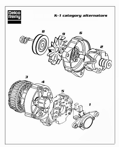 Dre19025074 Alternator Delco Remy Deer Online Com Alternator Starter