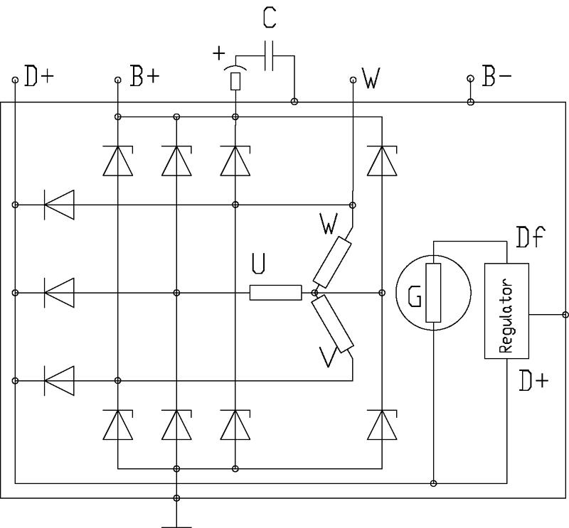 Charmant Massey Traktor Lichtmaschine Schaltplan Fotos - Elektrische ...