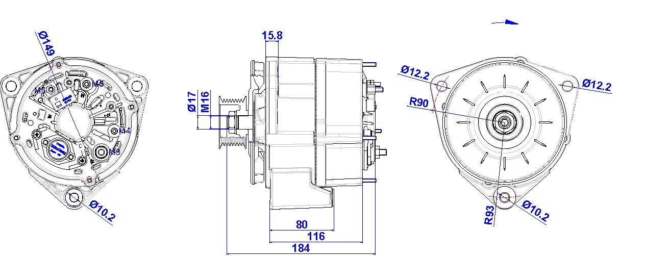 Berühmt Delco Lichtmaschine Schaltplan Sfl P Fotos - Elektrische ...