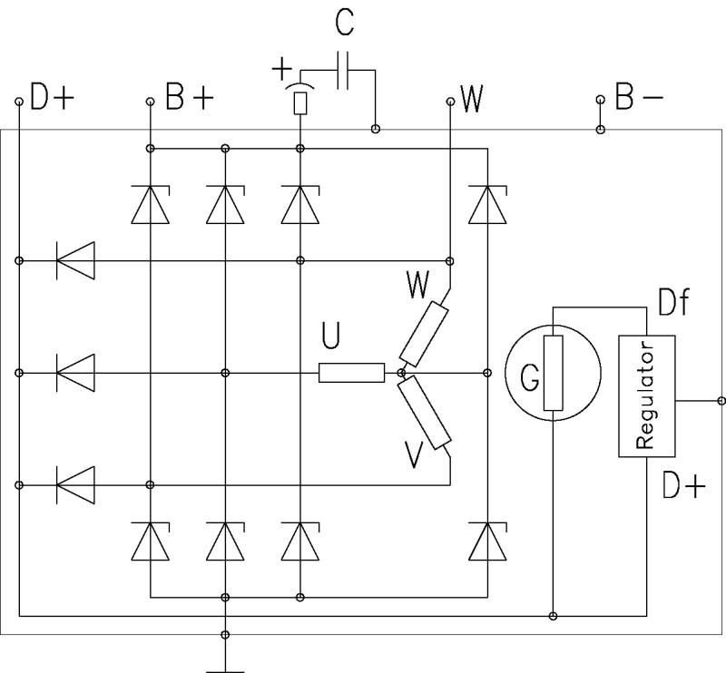 Tolle Delco Lichtmaschine Schaltplan Ideen - Der Schaltplan - greigo.com