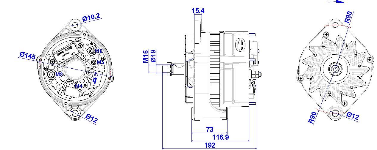 Wunderbar 4 Kabel Delco Remy Lichtmaschine Schaltplan Galerie - Der ...