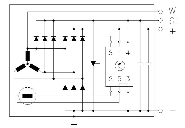 Schön 4 Kabel Delco Remy Lichtmaschine Schaltplan Bilder - Der ...